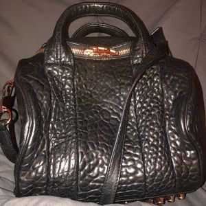 AUTHENTIC Alexander Wang Rockie Bag, Pebbled Black